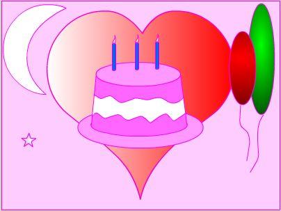 生日贺卡制作方法图解,制作生日贺卡的方法,生日贺卡制作简单方-